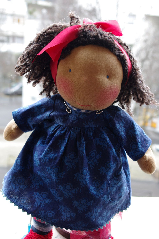 "ooak 15"" waldorf inspired doll: jeanne."