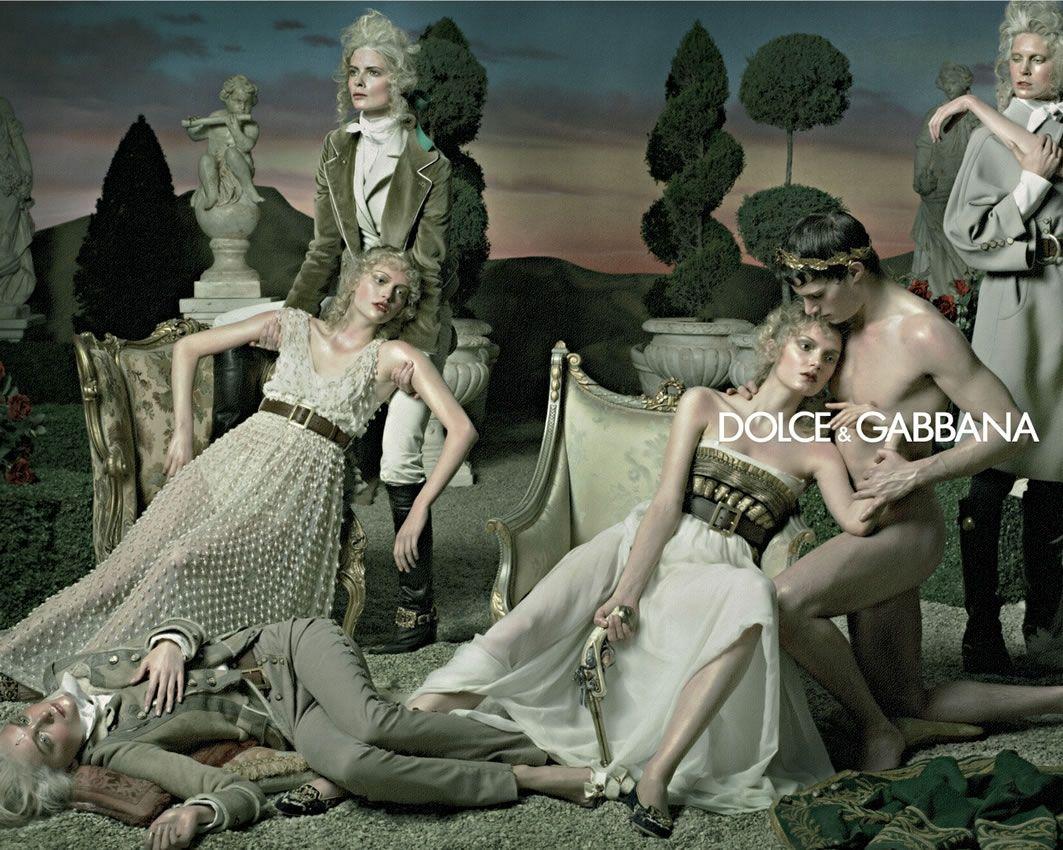 1st Dolce & Gabbana Print Ad?