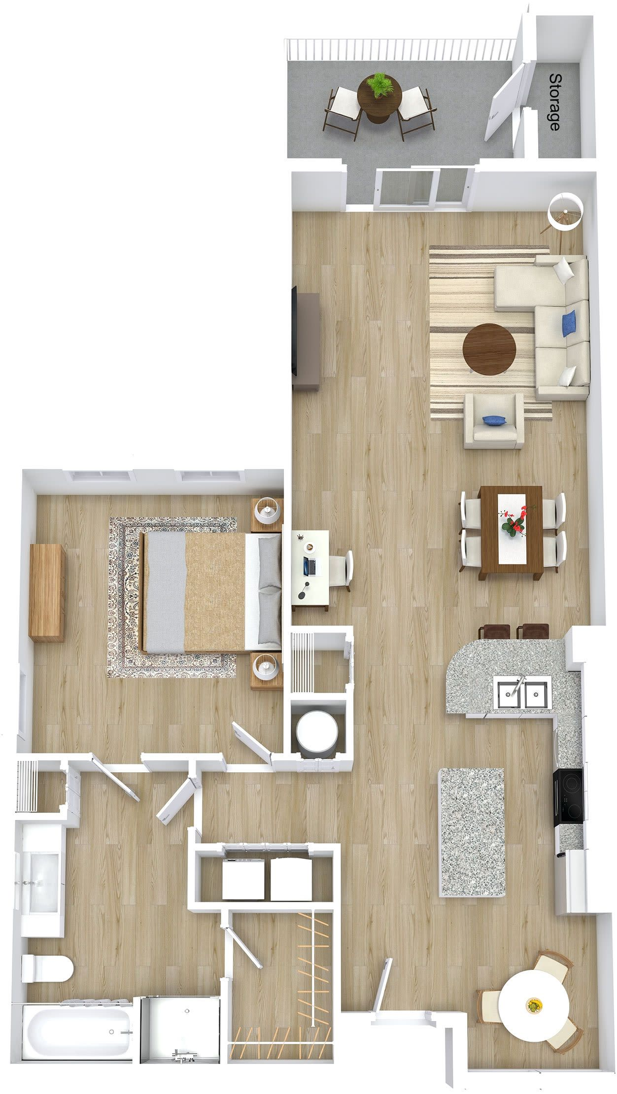 Luxury 1, 2 & 3 Bedroom Apartments & Townhomes in Orlando