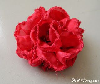Sew Homegrown: {DIY} Anthro Knock Off: Sweet Blossom Hairclip