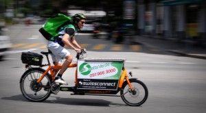 Con Saetta Verde consegne green – corriere a Lugano