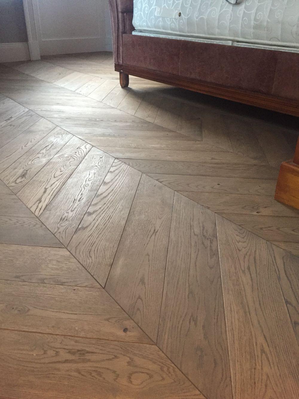 Beautiful our engineered oak chevron parquet wood flooring