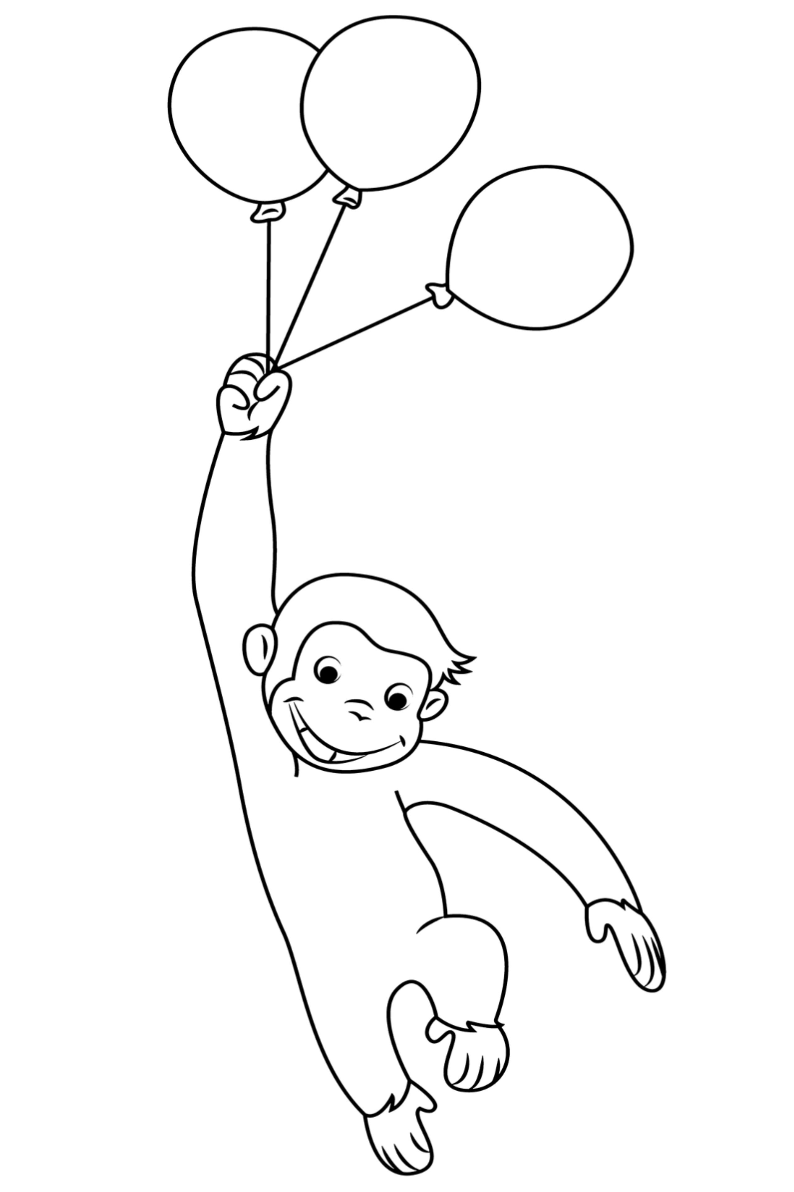 Pin On Curious George Coloring Book Pages