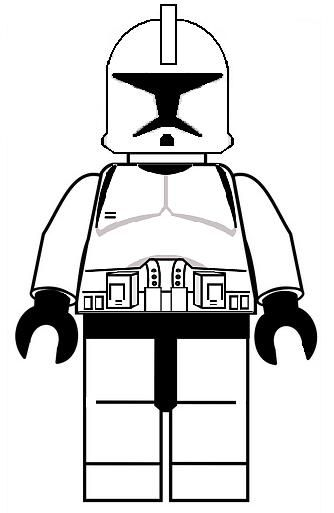 Clone Wars coloring pages - for goodie bags or activity (coloring or ...