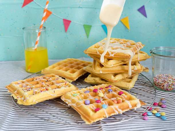 Photo of Fantacake Waffles Recipe | DELICIOUS