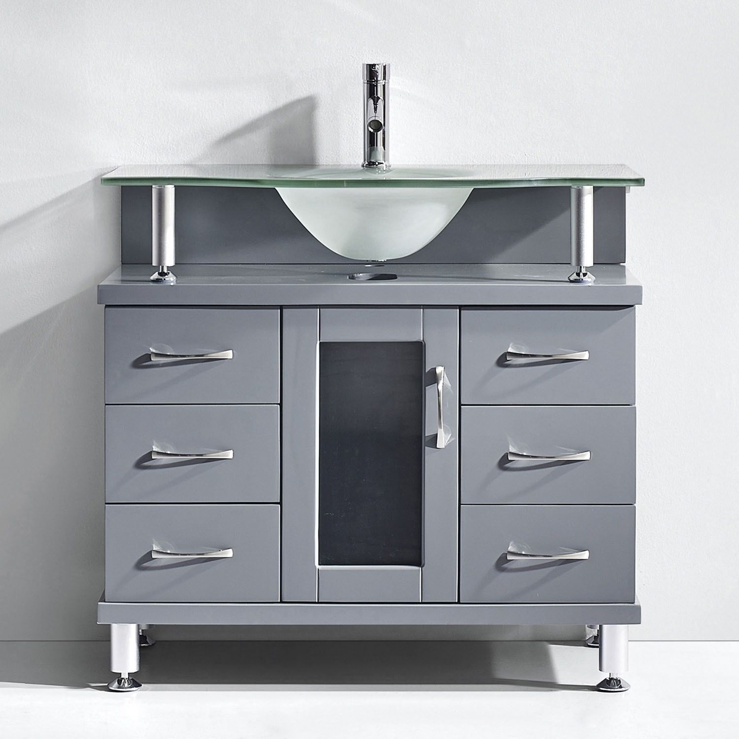 vanity gray on faux bathroom size grey vessel of uniqueness deep cabinet drawers etching separate door venica vanities to the each wash teak with narrow your full illusion creates sink