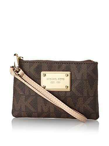 4abdf3795925 michael kors jet set small signature wristlet fulton black crossbody handbag
