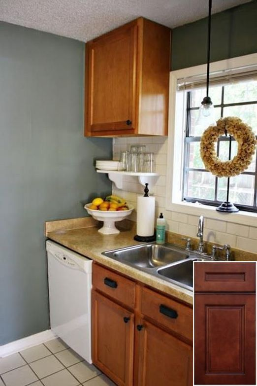 Choosing the best - unfinished oak cabinets painted white ...
