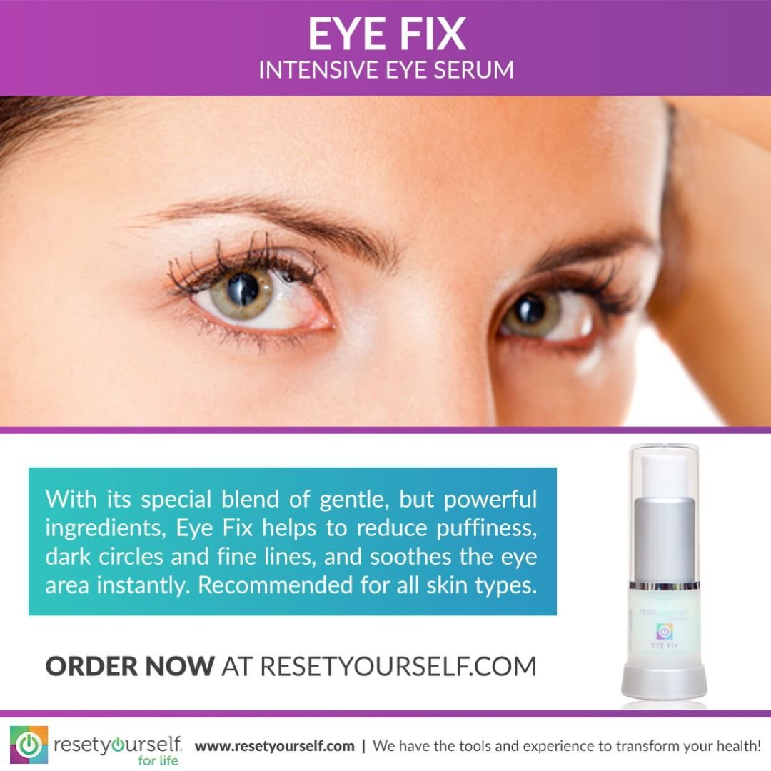 An #intense, deeply #hydrating treatment fortified with Spin Trap, an intelligent #antioxidant that neutralizes age-inducing free radicals to help #protect the #eye area from cell damage; and Liquid Crystal, a unique lipid-based crystalline complex that penetrates deeply into the #skin, to #moisturize, #strengthen and help protect tissue. #ResetBeauty #EyeFix #beauty