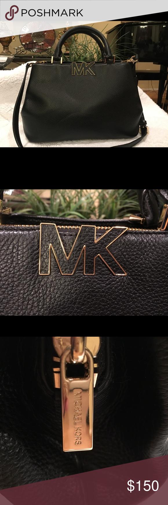 632861f37ac7 Michael Kors 'Florence' bag Brand New with Tags Michael Kors black satchel.  Carries