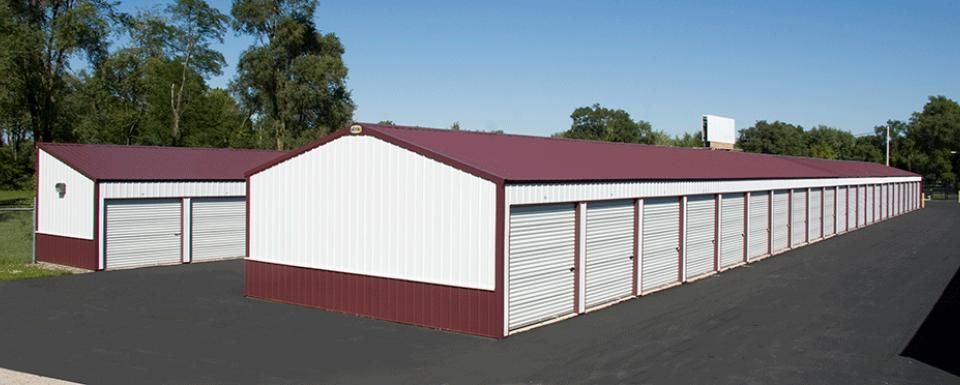 Commercial Building Profile  Use: Commercial post-frame building  Size: 40' x 100' x 8' & 12' x 100' x 8'