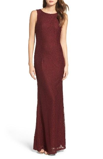 Free shipping and returns on Lulus Cowl Back Lace Mermaid Gown at Nordstrom.com. Richly hued lace looks romantic and luxe in a figure-skimming mermaid gown that flows over your shoulders into an elegantly draped cowl back.