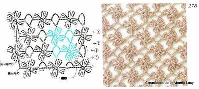 Hooked on crochet: Crochet stitches / Pontos de crochê