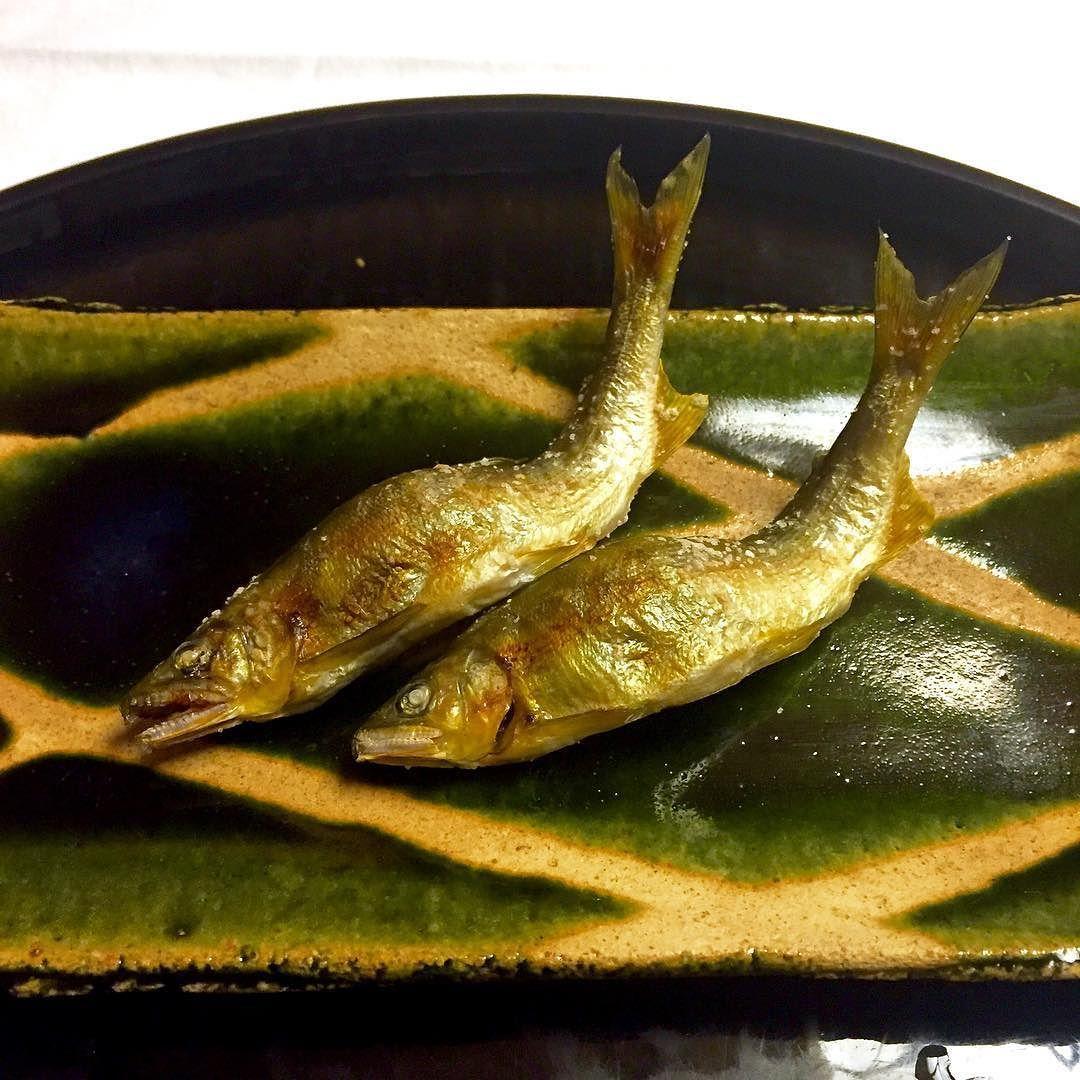 Ayu Sweetfish | Kaiseki Sixth Course At Yagyu No Sho Ayu No Shioyaki Salt Grilled