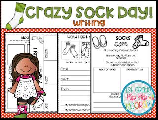 Crazy Sock Day!