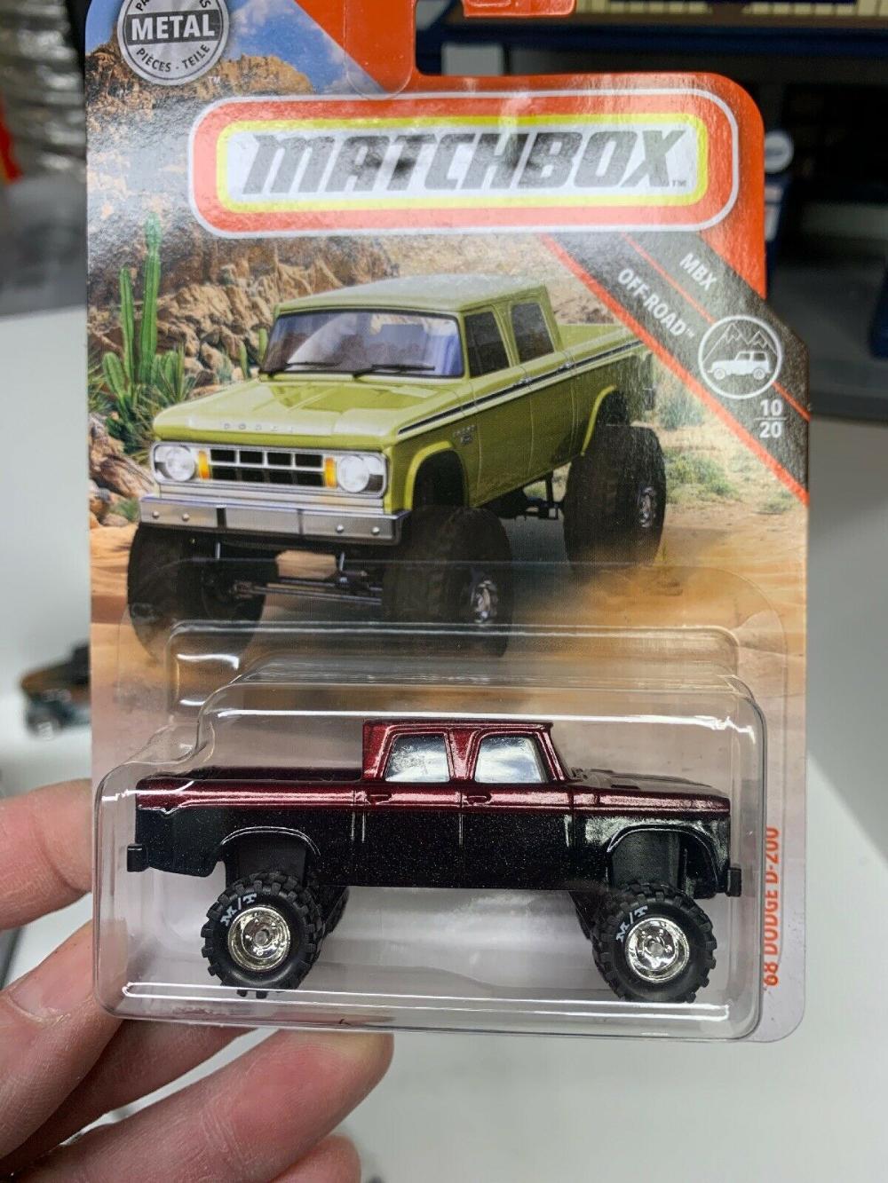 Details about New 2019 Matchbox 68 Dodge D200 1968 D200