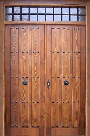 Puertas de herreria para patios puertas y portones de madera puetras para patio puertas de - Puertas para porches ...