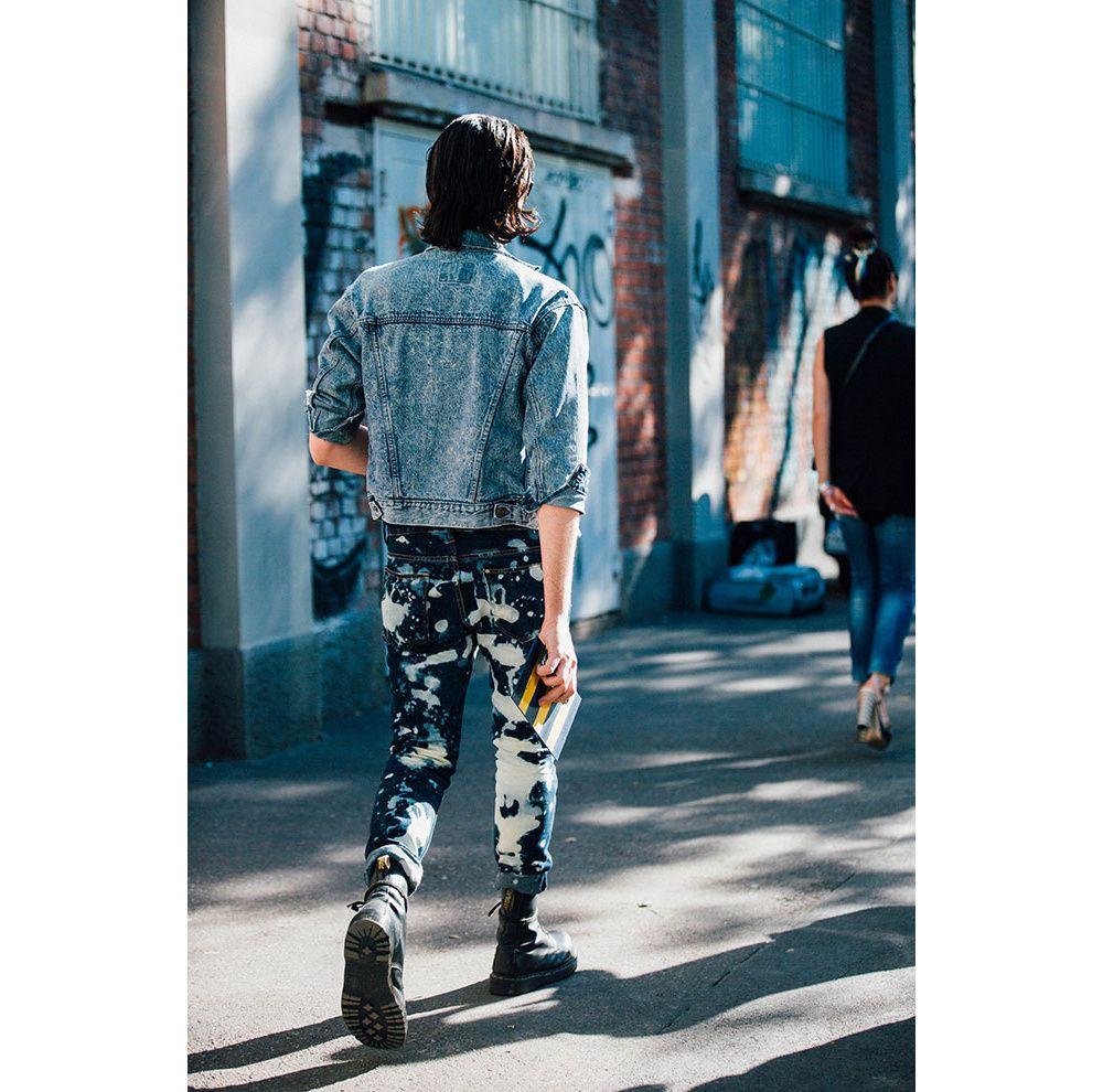 Découvrez les meilleurs looks de rue pris sur le vif par Jonathan Daniel Pryce à la sortie des défilés homme printemps-été 2017 à Milan