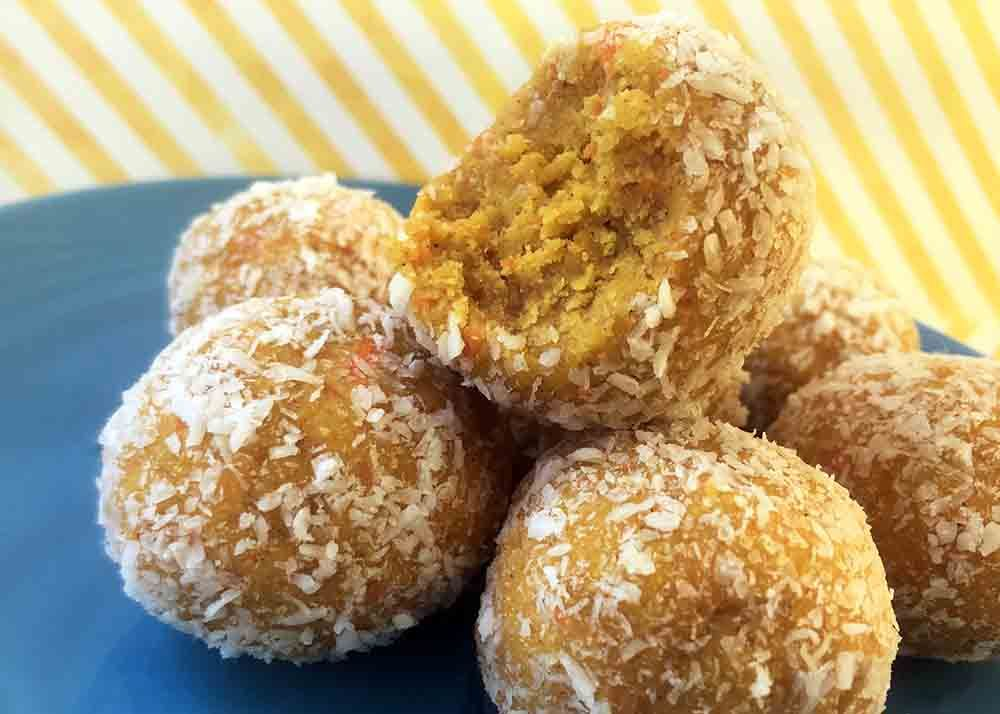 Carrot cake bites low carb keto resolution eats in
