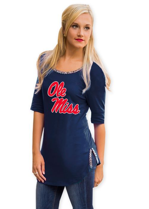 Ole Miss On With The Show Top