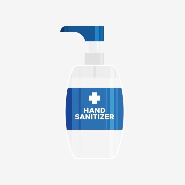 Hand Sanitizer Bottle Medical Tools Illustration Vector And Png In 2020 Hand Sanitizer Bottle Sanitizer
