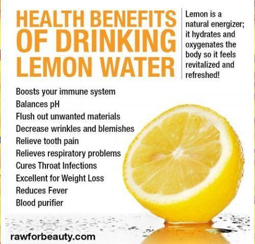 Lemon Water Lemon Water Drinking Lemon Water Health Benefits