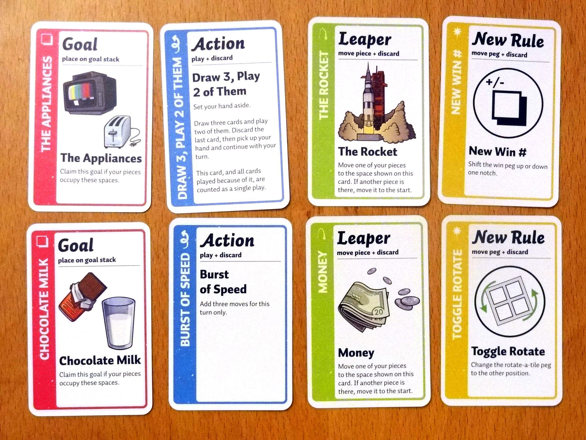 Fluxx The Board Game Geekdad Game Card Design Card Games Game Design