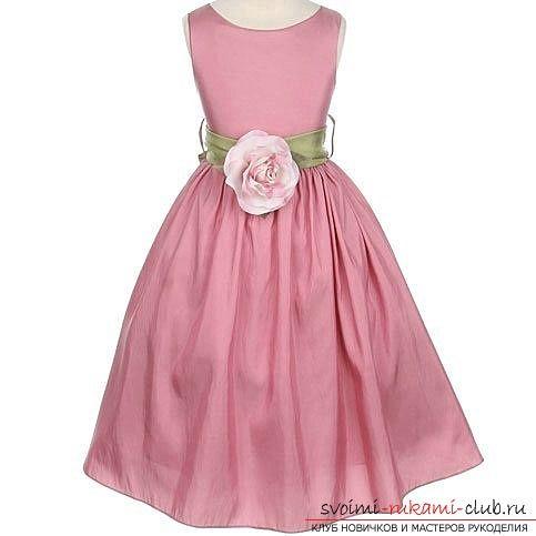 Выкройки и фото детских платьев помогут создать гардероб
