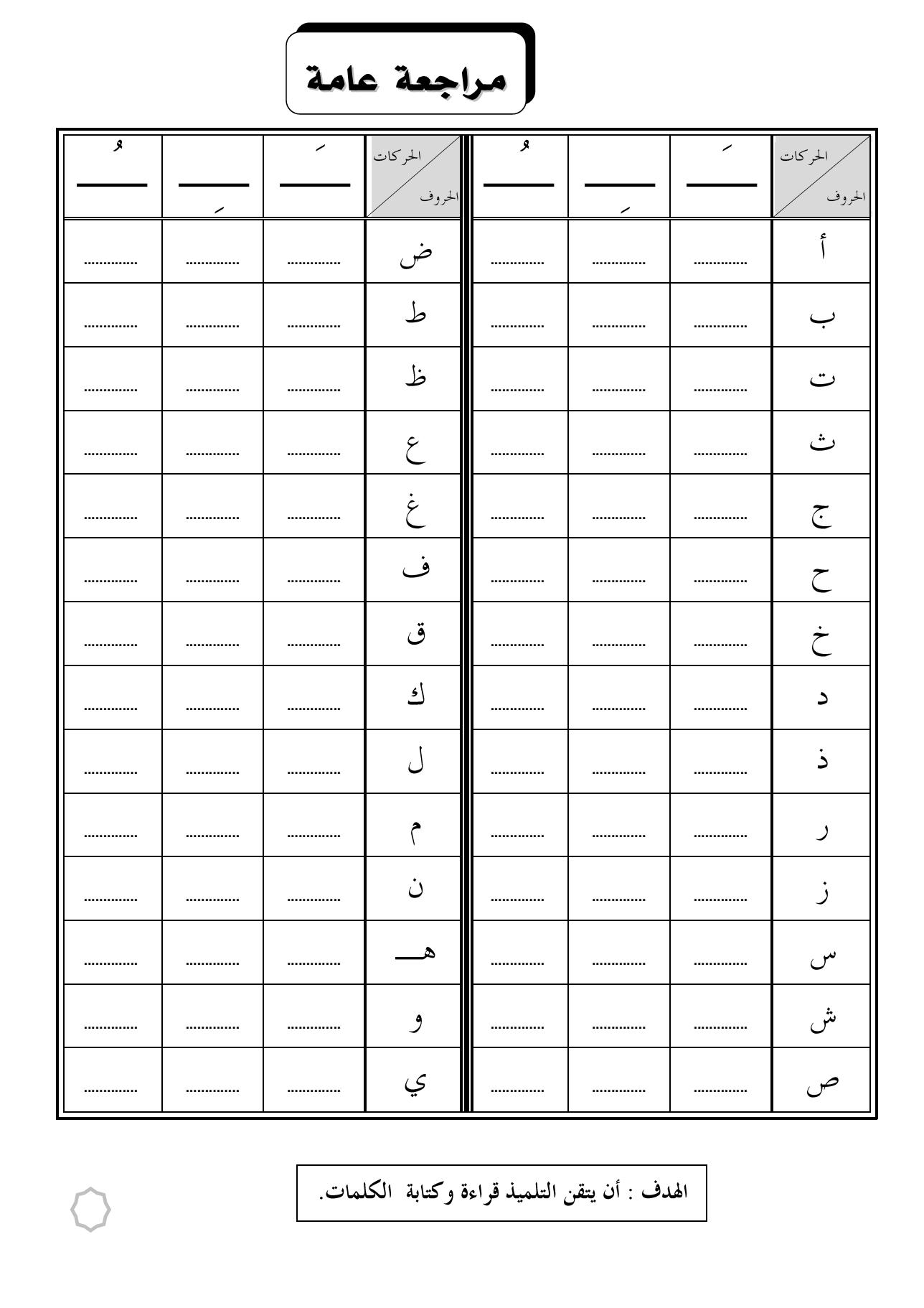 Épinglé par Nisa Najri sur cube arabic | Apprendre l ...