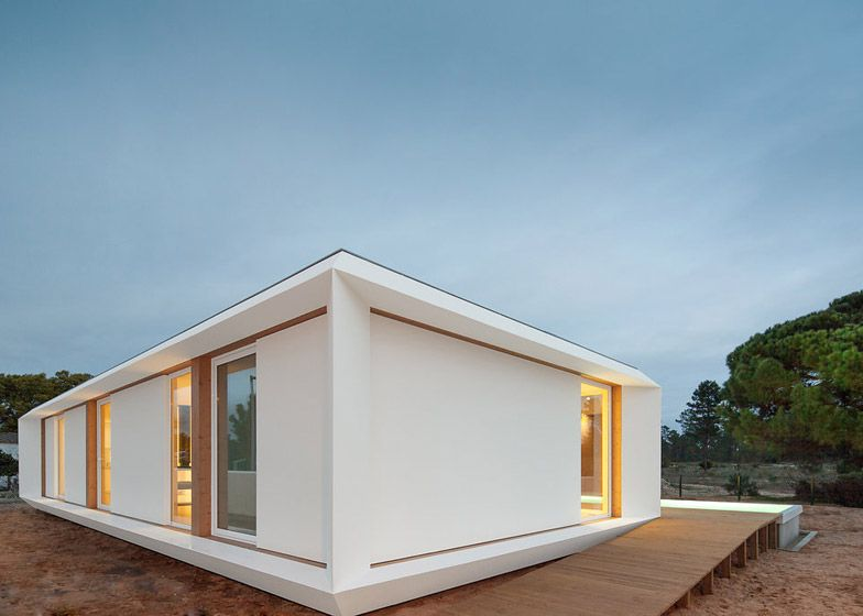 Imagine living in this stunning prefabricated summerhouse