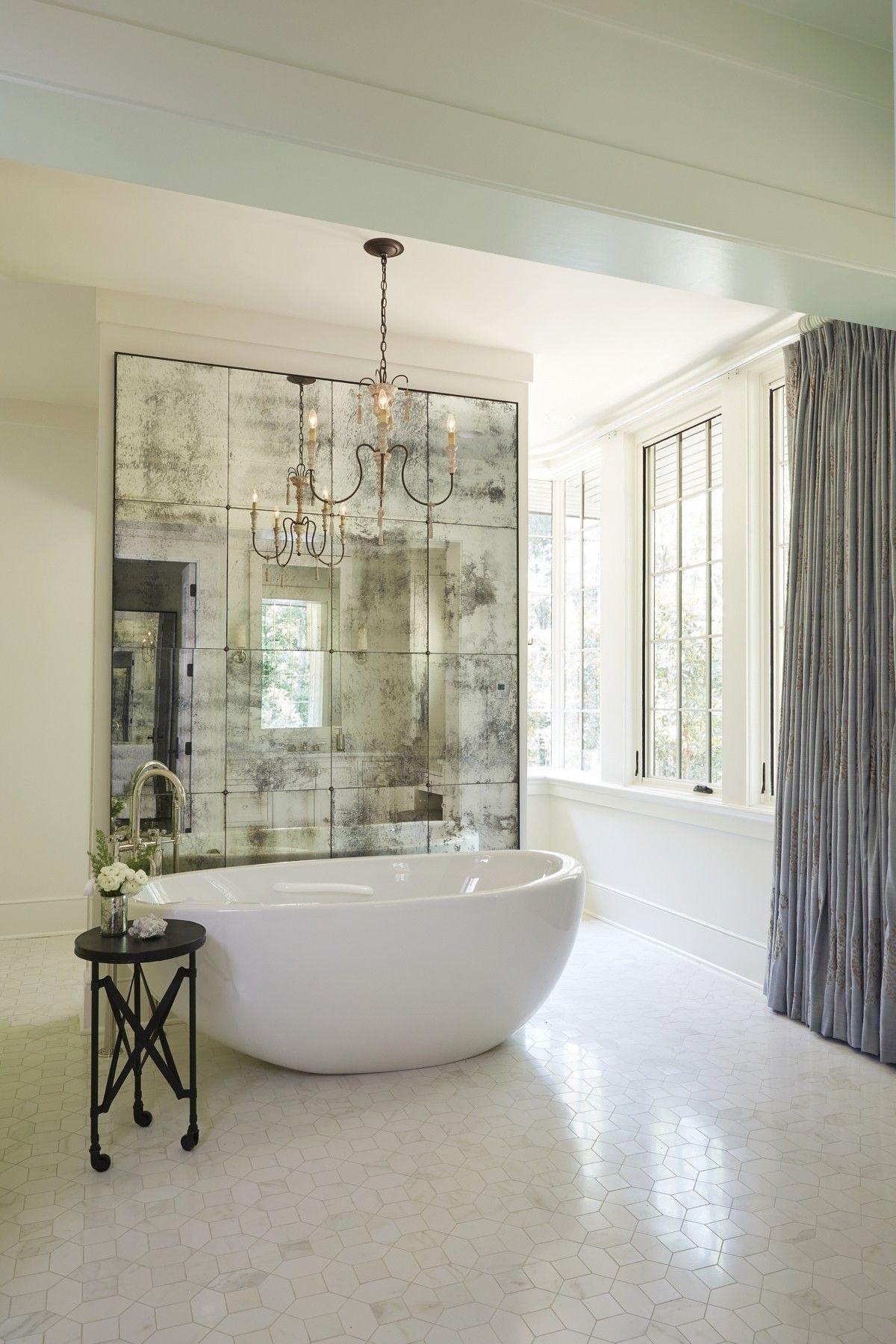 Interior Designer Crush: Joanna Goodman | Drapery panels, Tile ...