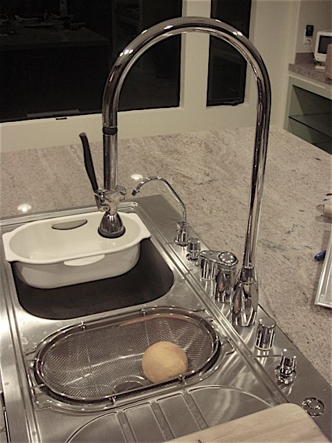 need kitchen faucet for 3 compartment sink actually the sink is great if the faucet would reach the two      rh   pinterest com
