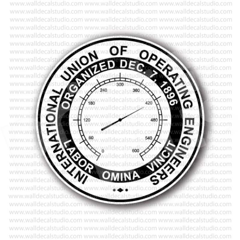 From 4 50 Buy International Union Of Operating Engineers Sticker
