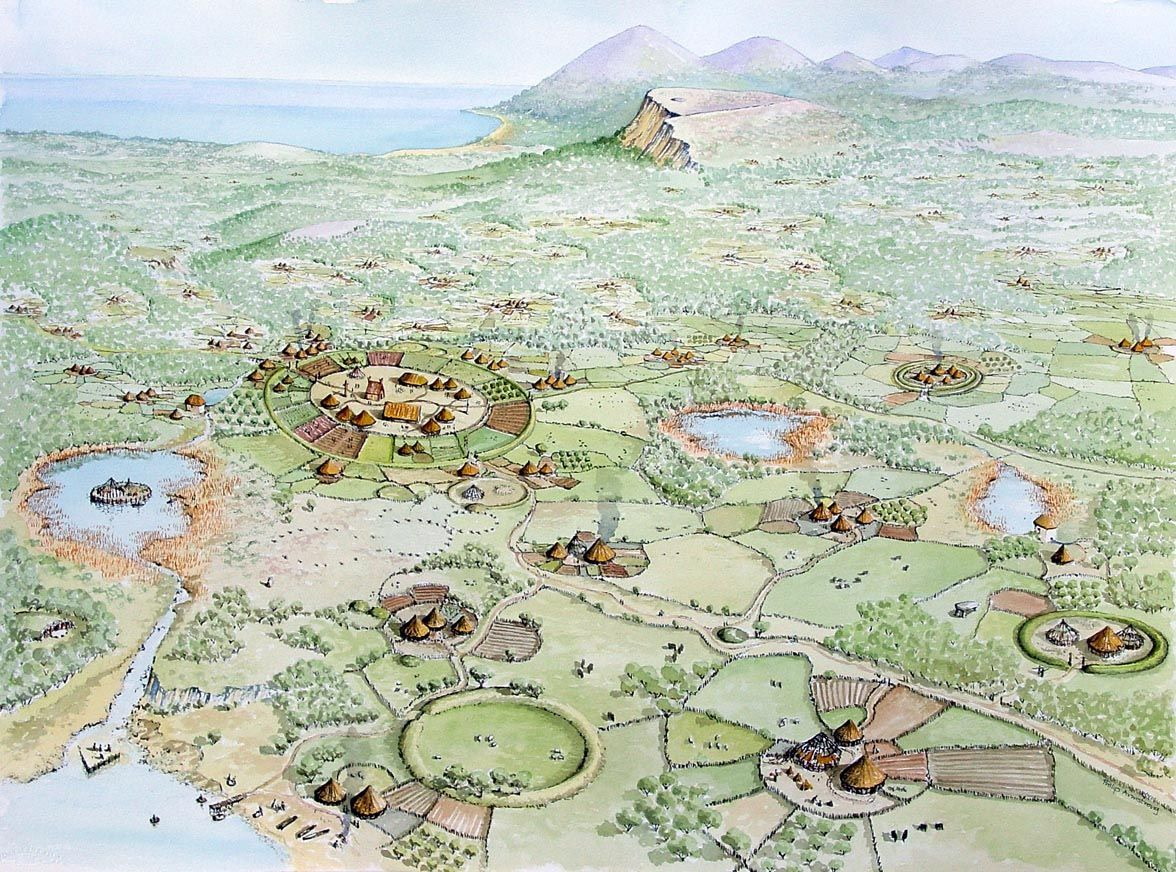 Early christian landscape conjectural location the early early christian landscape conjectural location the early christian landscape shows the formation of a sciox Choice Image