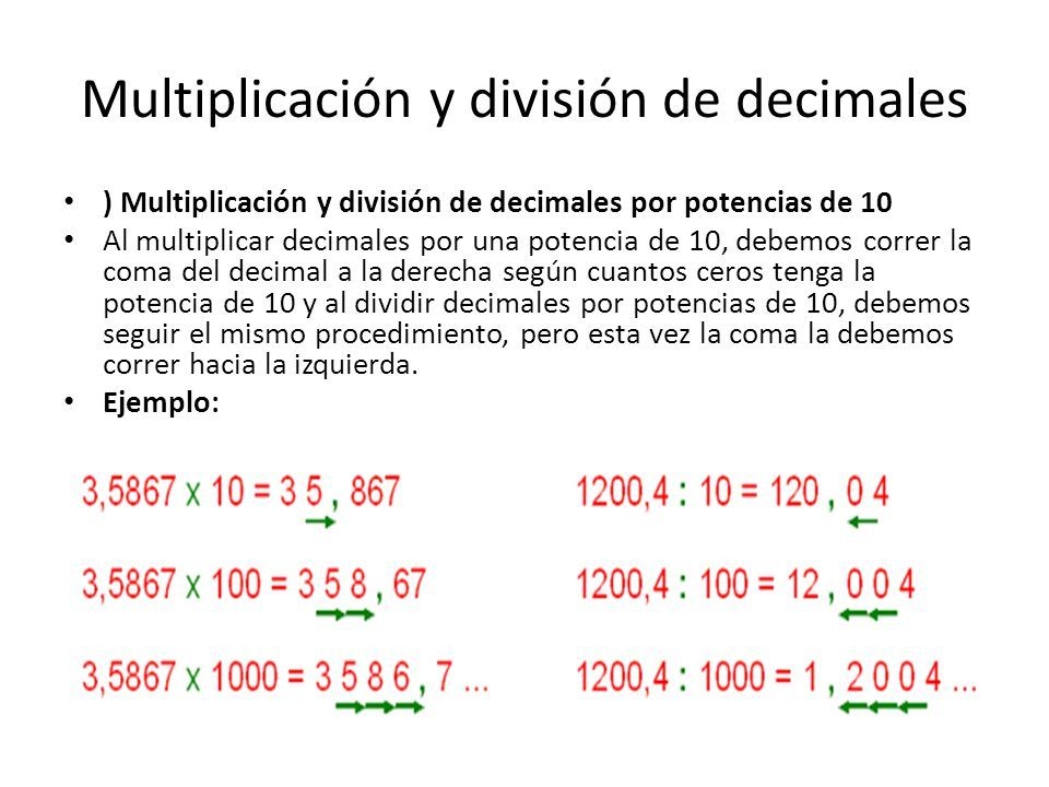pagina de division de decimales | prueba de multiplicacion y ...