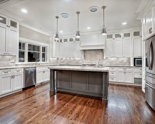 Best Image Result For Craftsman Style Kitchen With Gray 400 x 300
