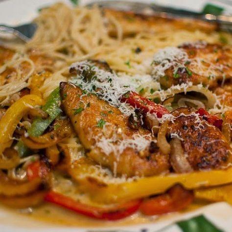 copycat restaurant recipes olive garden chicken scampi recipe - Olive Garden Chicken Scampi Recipe