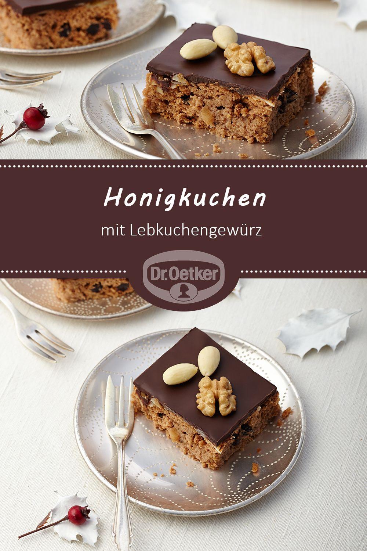 Honigkuchen | Rezept in 2018 | Weihnachtsplätzchen | Pinterest ...