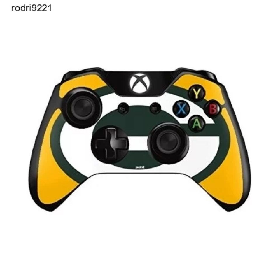 New Xbox One 1 Controller Protective Vinyl Skin Decal Nfl Green Bay Packers Logo Nfl Green Bay Green Bay Packers Logo Xbox One Controller
