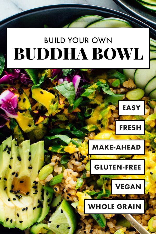 Build Your Own Buddha Bowl