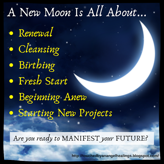 Touched By An Angel Healings: New Moon in Scorpio: What Energies Will The Octobe... #newmoonritual