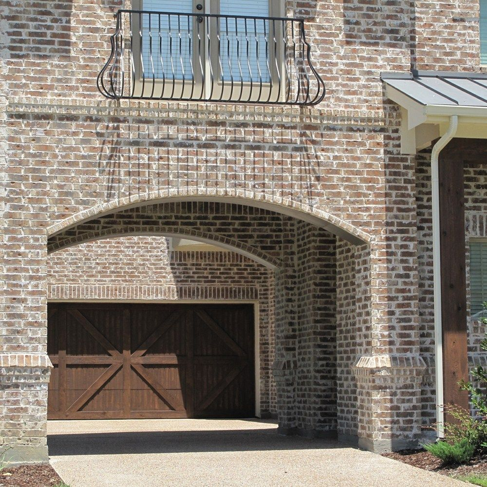 Copper Canyon White Trim Pinnacle Brick Roof And Trim