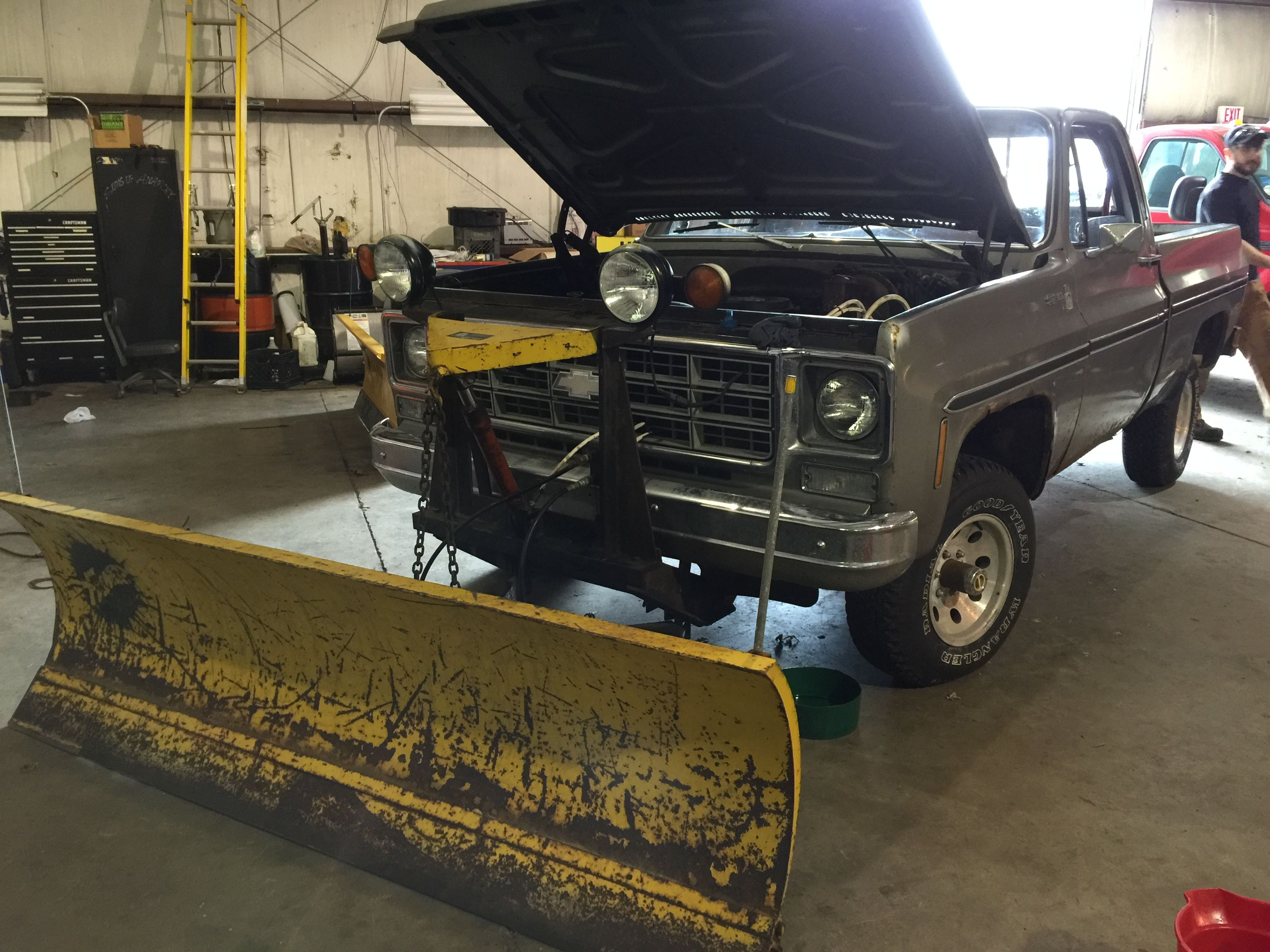 chevy scottsdale a fisher speedcast snowplow both all 1978 chevy scottsdale a fisher speedcast snowplow both all original parts
