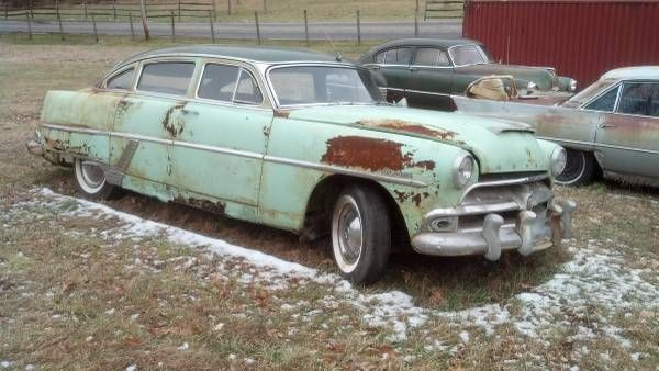 1954 Hudson Hornet Barn Find Stored Since 1959