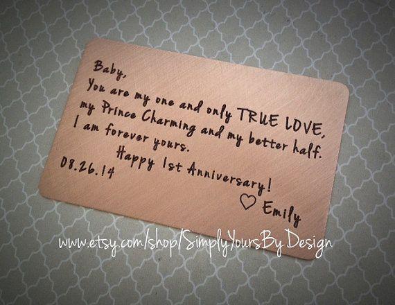 First anniversary gift anniversary gift for him men s anniversary