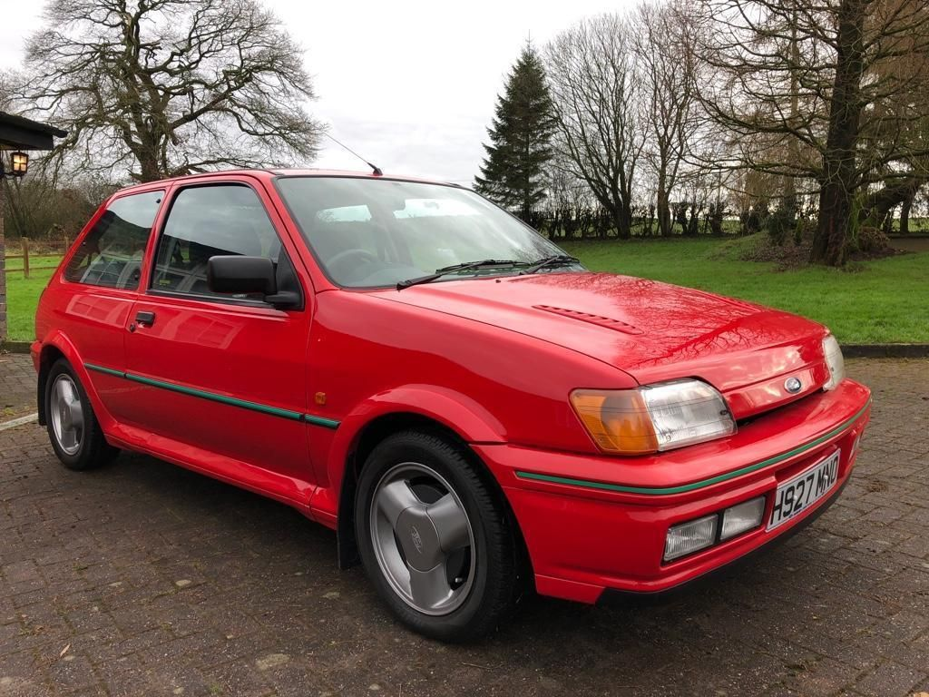 Check Out This Classic Turbo 1991 Ford Fiesta Rs Turbo Petrol Red Manual Ford Ford Fiesta