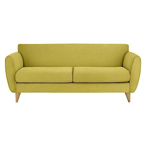 Buy John Lewis Warwick Medium Sofa with Light Legs Online at