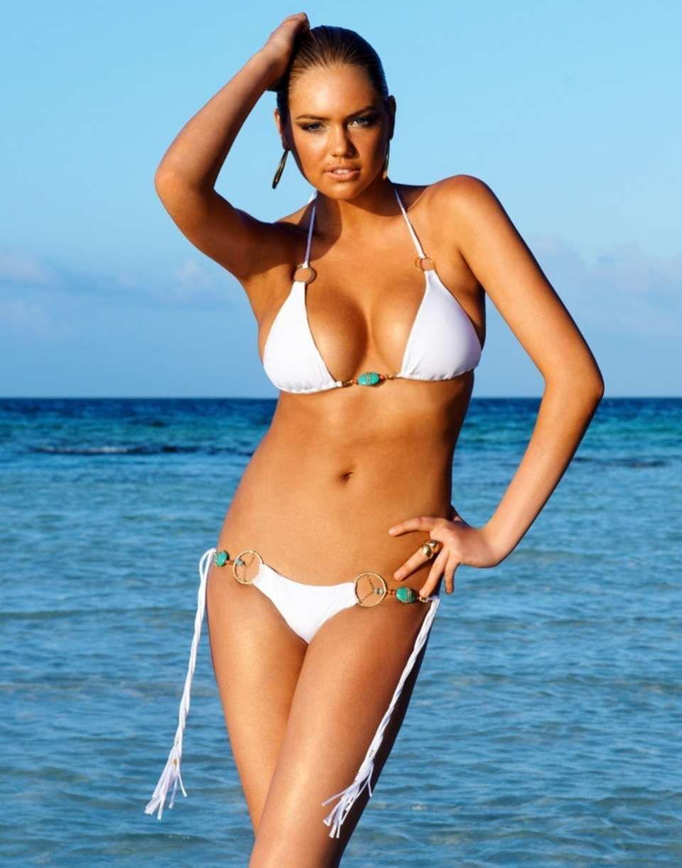 Kate Upton for Beach Bunny Bronze 2012 Swimwear Collection