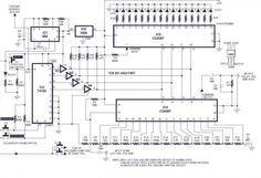 Digital Volume Control Circuit Diagram | Digital Volume Control Circuit Diagrams Schematics Electronic