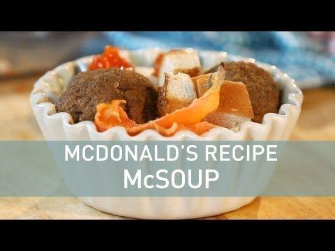 Wacky McDonald's French Fry Soup | Mcdonalds recipes